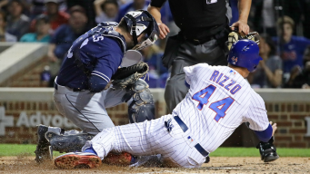 Rizzo, Maddon Fire Back After Padres Call Out 'Cheap Shot'