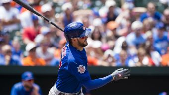 Bryant Homers as Cubs Sweep Orioles