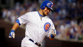 Schwarber Pays Surprise Visit to Chicago Firehouse