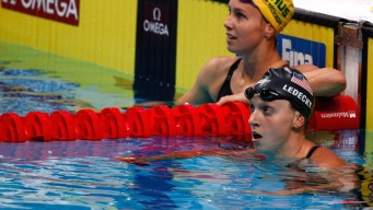 Katie Ledecky Loses for First Time at World Championships