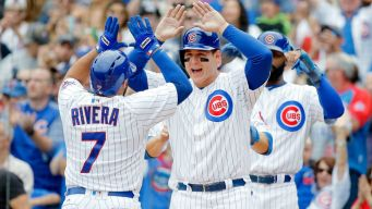 Rivera's Grand Slam Lifts Cubs to Sixth Straight Win