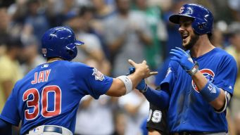 Cubs Knock Off Brewers at Miller Park