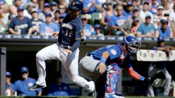 Davis Blows First Save as Cubs Fall to Brewers