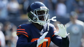 Cooper Out, Amukamara Limited for Bears in Practice