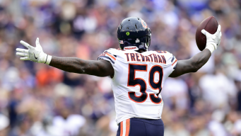 Bears Linebacker Danny Trevathan Keeping It Under Control