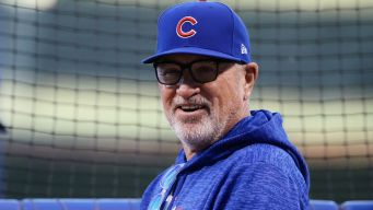 Maddon Gives Advice to New Bears Coach