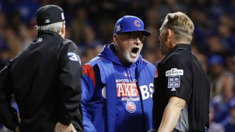 Maddon Makes Hilarious Threat After Game 4 Ejection