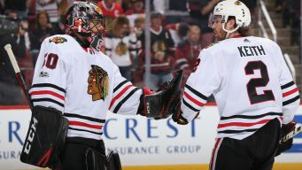 Kane, Bouma Score as Blackhawks Keep Coyotes Winless