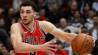 LaVine Joins Exclusive Bulls Club With Big Game