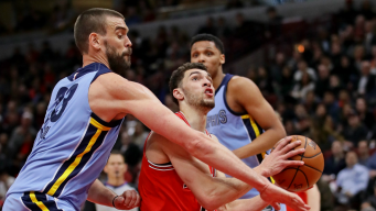 Bulls Hang on Down Stretch, Beat Grizzlies 119-110