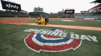 Baseball's Back at Wrigley for 2nd Shot at Cubs Home Opener