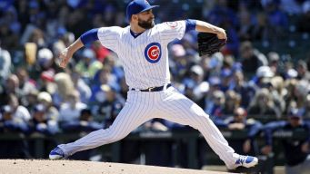 Chatwood Keeps Up Cubs' Hot Pitching in Win