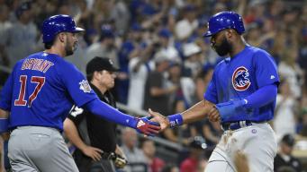 Heyward Helps Cubs Beat Cardinals 9-6 in Return From Break