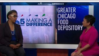 Greater Chicago Food Depository Works to End Hunger