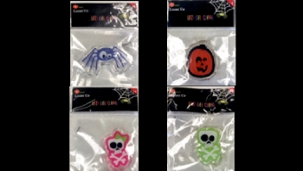 Target Recalls Halloween Light-Up Gel Clings