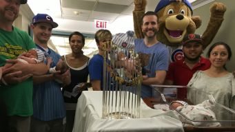 Hospital Celebrates 'World Series Babies' After Cubs Win