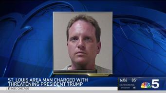 Illinois Man Charged With Threatening to Assassinate Trump