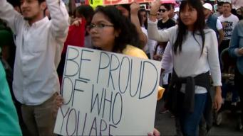 Thousands Protest on 'A Day Without Immigrants'