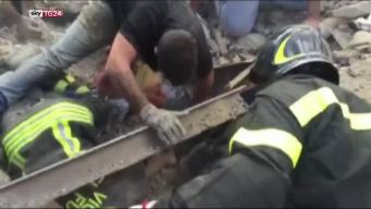 Italian Girl, 10, Rescued From Earthquake Rubble