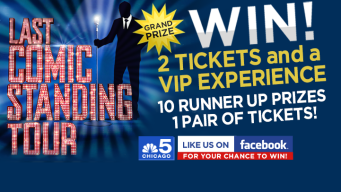 EXPIRED: Last Comic Standing Live Tour Sweepstakes