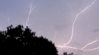 Naperville Home Struck by Lightning