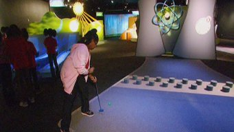 Mini Golf at MSI Includes Science, History Lessons