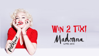 EXPIRED: Win Madonna Tickets