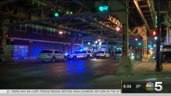 Man Grazed by Bullet on CTA Train