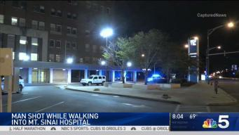 Man Shot While Walking Into Hospital