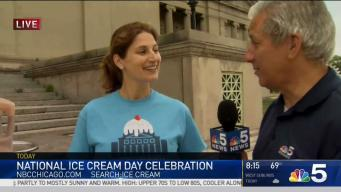 Museum of Science and Industry Offers Free Ice Cream