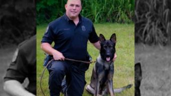 Cop and K-9 Officer Set On Fire