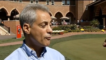Rahm Makes Cameo at Ryder Cup