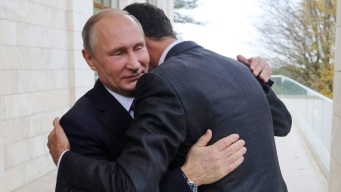 Putin Talks Post-War Syria With Assad, Trump