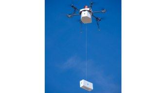 Drone Delivery to Residential Area for First Time