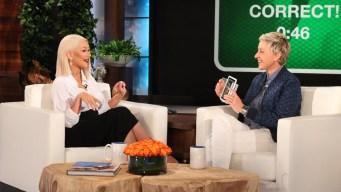 'Ellen': Aguilera Sings Beyonce, Adele and More