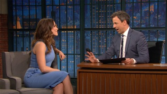 'Late Night': Sophia Bush Took Cubs Fan to the World Series