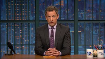 'Late Night': Meyers Chides Trump for Reaction to Virginia