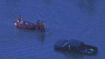 Sky 5 Captures Dramatic Water Rescue in Morris