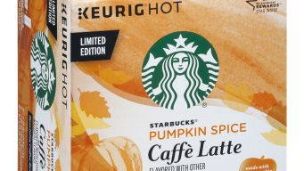 Starbucks Announces Debut of Pumpkin Spice Latte K-Cups