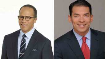 Lester and Stefan Holt Co-Anchor NBC 5 News