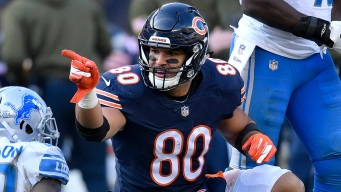 Trey Burton Added to Bears' Injury Report