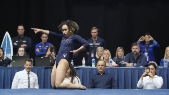 UCLA Gymnast Katelyn Ohashi's Perfect-10 Floor Routine Goes Viral