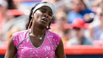 Venus Williams Out of Rogers Cup in Montreal