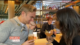 'Chicago Today' Host Tries Malort for First Time at World's Largest Starbucks