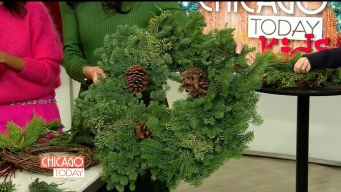 DIY: How to Make a Wreath at Home With Your Kids