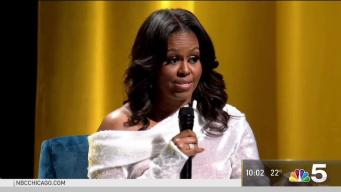 Michelle Obama, Oprah Winfrey Join Forces at United Center