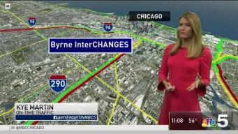 What To Expect From New Lane Configuration on Inbound Eisenhower