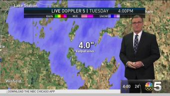 Part of NW Indiana Could See Half-Foot of Snow in Hours: NWS