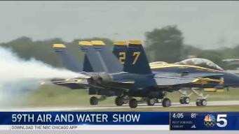 Air and Water Show to Hit Chicago This Weekend