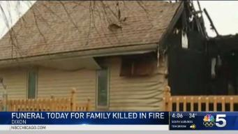 Family Laid to Rest After Fatal Dixon Fire